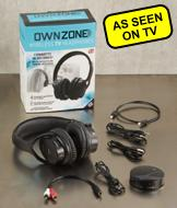 Own Zone Wireless TV Headphones