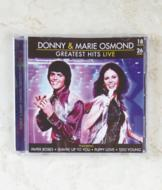 Donny and Marie Osmond Greatest Hits Live CD