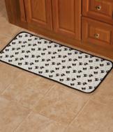 Cat-Print Kitchen Mat