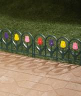 Tulip Border Fence - 4-Pc. Set