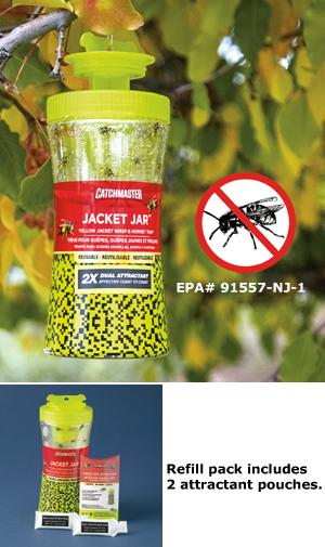 Jacket Jar with Attractant