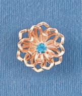 Layered Flower Pin
