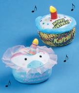 Singing Cupcake - Unicorn