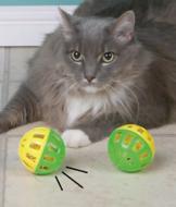 Cat Jingle Balls - Set of 2