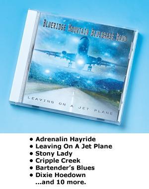 Blueridge Mountain Bluegrass Band CD