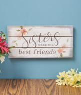 Sisters Wall Plaque