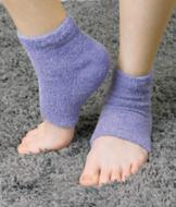 Lavender Gel Heel Sleeves - A Pair