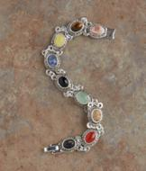 Semiprecious Cabochon Bracelet