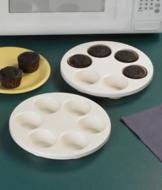Microwave Muffin Pans - Set of 2