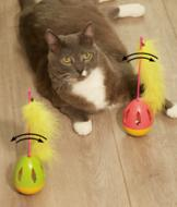 Tumbler Cat Toys - Set of 2