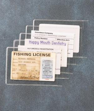 Card Protectors - Set of 5
