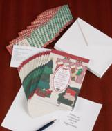 Patchwork Christmas Cards - The Set