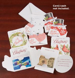 Money Holder Holiday Cards - Set of 8