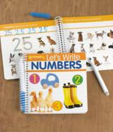 Write and Erase Numbers Book