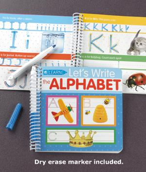Write and Erase Alphabet Book