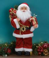 Old-Fashioned Santa Figurine
