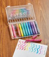 Watercolor Gel Crayons - Set of 12