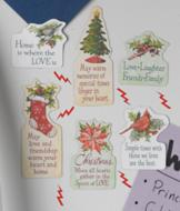 Christmas Magnets - Set of 6