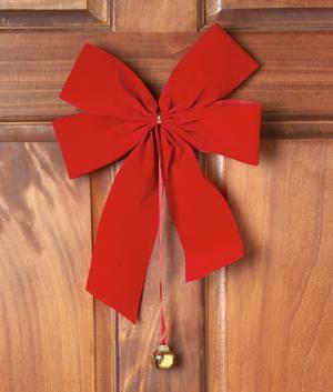 Holiday Door Bow