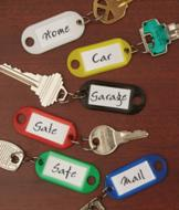 Key Tags - Set of 6