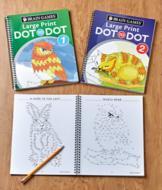 Brain Games Large Print Dot-to-Dot Book - Volume 1