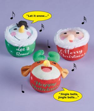 Musical Holiday Cupcake - Reindeer