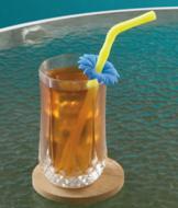 Silicone Flower Straws - Set of 3