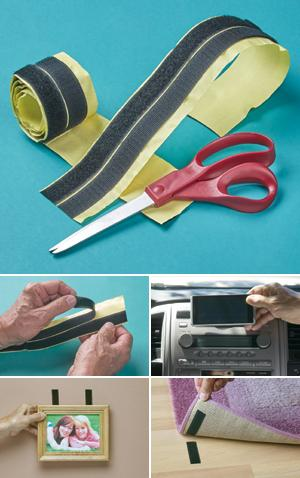 Hook-and-Loop Tape Roll - 4 ft.