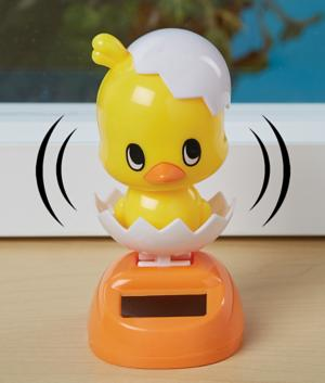 Solar Dancing Chick