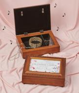 Granddaughter Musical Jewelry Box