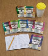 Word Hunt Books with Mug - The Set