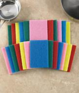 Scouring Pads - Set of 24