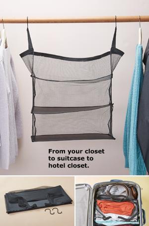 Hanging Travel Shelves