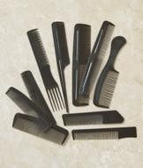 Hair Combs - Set of 10