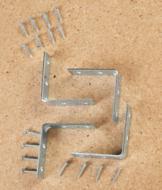 2 Corner Braces - Set of 4