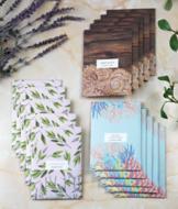 Set of 5 Envelope Sachets - Amber Woods