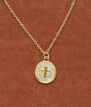 Cross Medallion Pendant