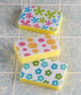 Felt-Top Sponges - Set of 3