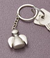 Metalwork Angel Key Ring