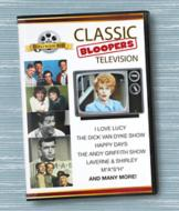 Classic Television Bloopers DVD