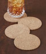 Cork Coasters - Set of 4