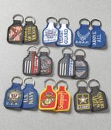 Embroidered Key Ring - Thin Red Line Fire