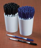 Ballpoint Stick Pens - Black Ink/Set of 50