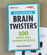 Brain Twisters Logic and Number Puzzles Book