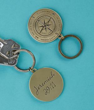 Journey Key Ring