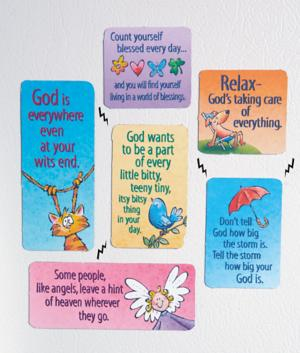 Time to Laugh Magnets - Set of 6