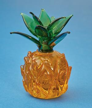 Handcrafted Glass Pineapple