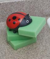 Ladybug Sponge Holders - The Set