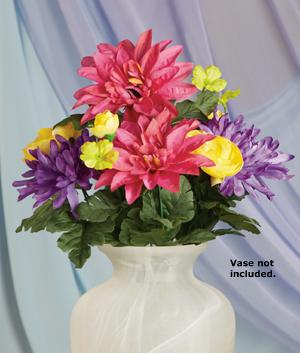 Everlasting Spring Bouquet with Bendable Stems