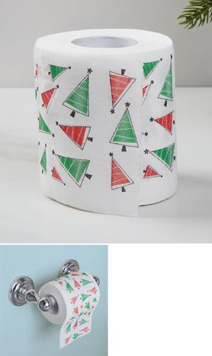 Holiday Toilet Paper Roll
